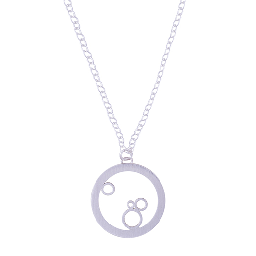 halo bubble pendant