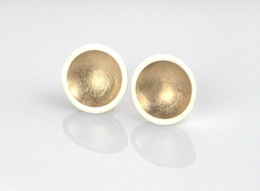 sentinel rose gold earrings